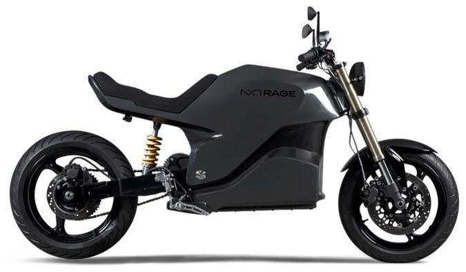 Ngắm mô tô điện NXT Rage khung carbon nguyên khối giá 579 triệu ảnh 1
