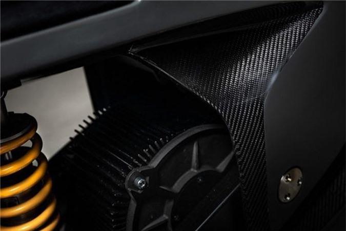 Ngắm mô tô điện NXT Rage khung carbon nguyên khối giá 579 triệu ảnh 3