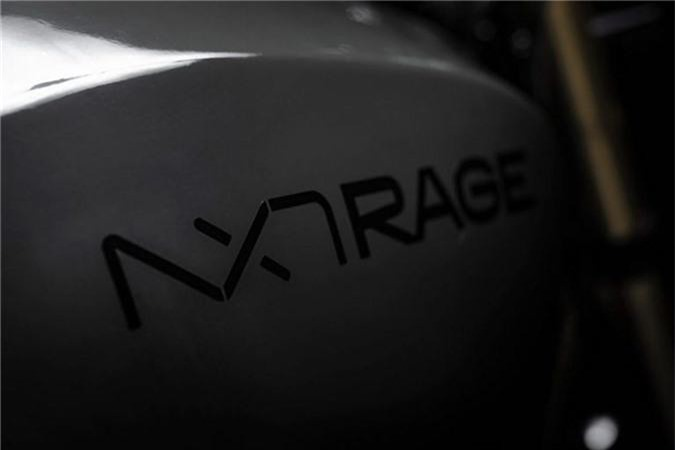 Ngắm mô tô điện NXT Rage khung carbon nguyên khối giá 579 triệu ảnh 4