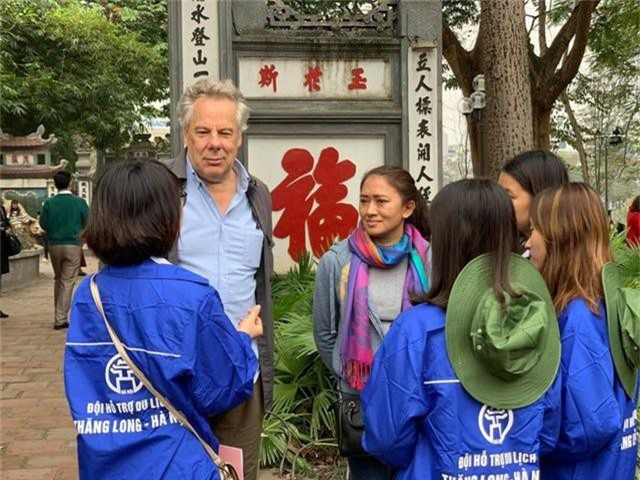 Bạn trẻ quảng bá du lịch Hà Nội nhân Hội nghị thượng đỉnh Mỹ - Triều Tiên - 2