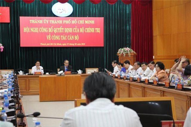 Ông Trần Lưu Quang giữ chức Phó Bí thư Thành ủy TPHCM thay ông Tất Thành Cang - 2