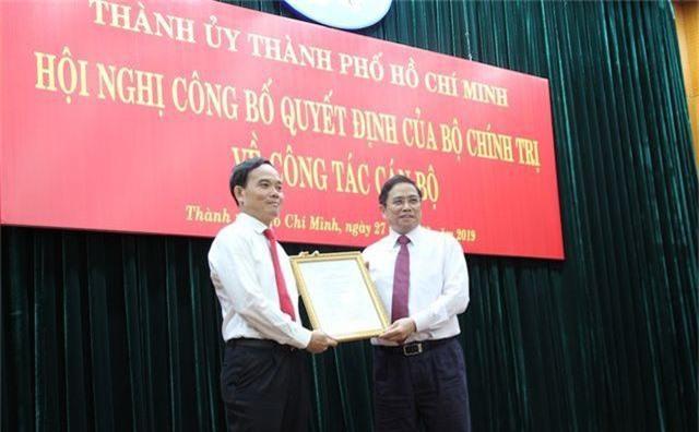 Ông Trần Lưu Quang giữ chức Phó Bí thư Thành ủy TPHCM thay ông Tất Thành Cang - 3