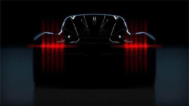 Aston Martin công bố hình ảnh đầu tiên của siêu xe