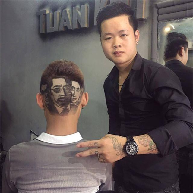 Chàng trai cắt tóc tạo hình Tổng thống Trump lên truyền hình ABC của Mỹ - 5