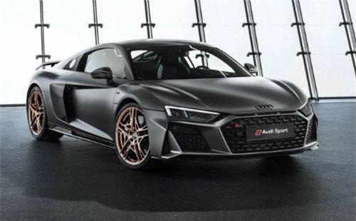 Ngắm Audi R8 V10 Decennium bản kỷ niệm 10 năm đẹp mê ly. Nhân kỷ niệm một thập niên ra mắt công nghệ động cơ V10 FSI, Audi cho ra mắt siêu phẩm R8 bản giới hạn tuyệt đẹp. (CHI TIẾT)