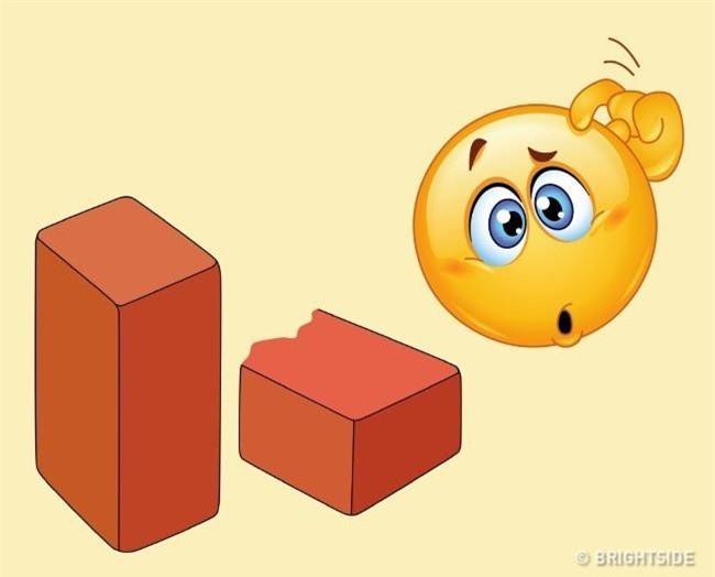 Theo bạn, viên gạch nặng bao nhiêu kg? Ảnh: