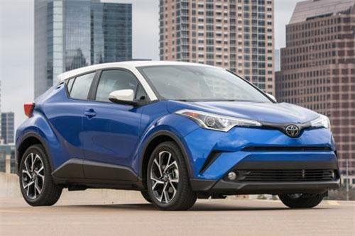 5. Toyota C-HR 2019 (giá khởi điểm: 20.995 USD).