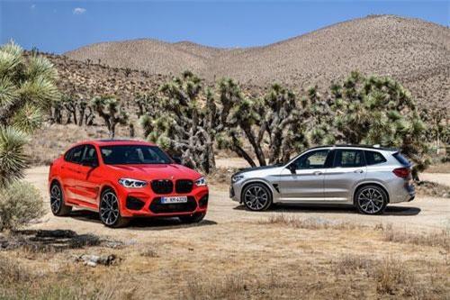 BMW X3 M và X4 M 2020.