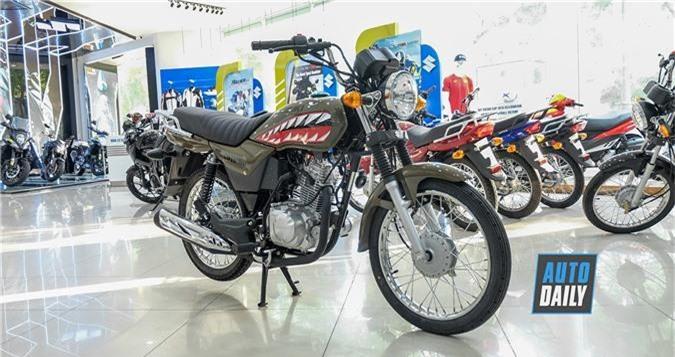 Cận cảnh Suzuki GD110 phiên bản