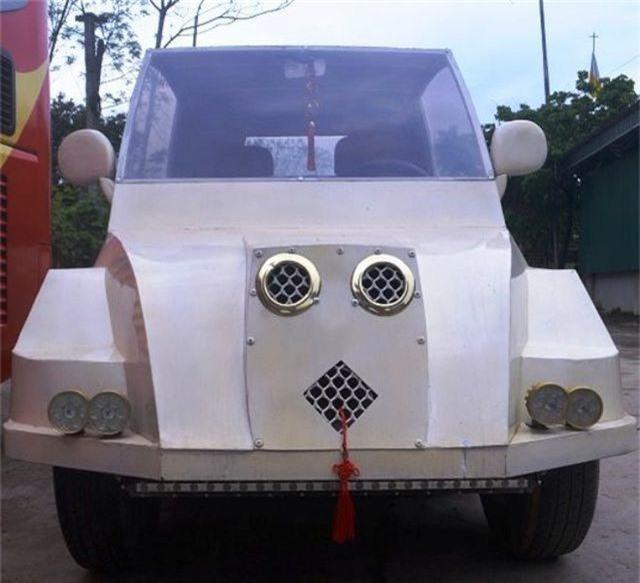 """9x Nghệ An tự chế """"siêu xe"""" từ động cơ xe máy - 5"""