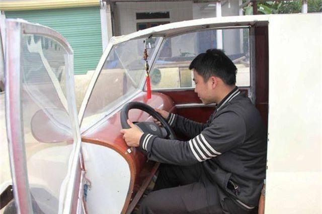 """9x Nghệ An tự chế """"siêu xe"""" từ động cơ xe máy - 6"""