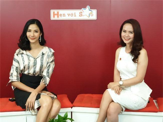 Hoàng Thùy khẳng định không cạnh tranh, giành giật khi đi thi Hoa hậu - Ảnh 4.