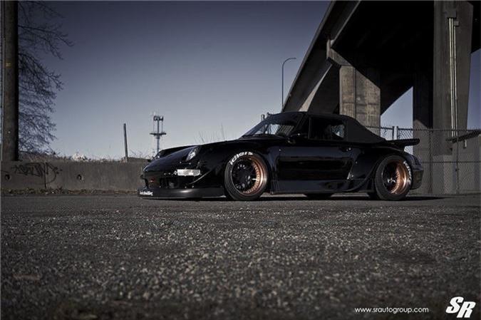 Ngắm mui trần Porsche 911 Cabriolet độ widebody RWB cực độc ảnh 5