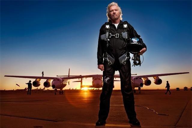 Tỷ phú Richard Branson.