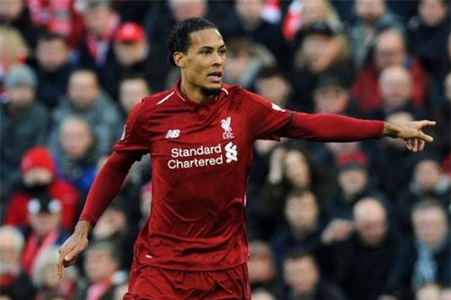 Trung vệ: Virgil van Dijk (Liverpool).
