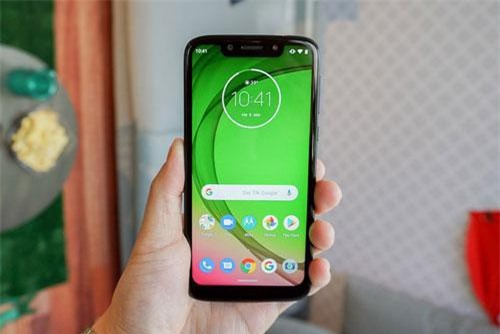Motorola Moto G7 Play.