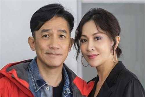 Vợ chồng Lương Triều Vỹ - Lưu Gia Linh. (Ảnh: J.Stars)
