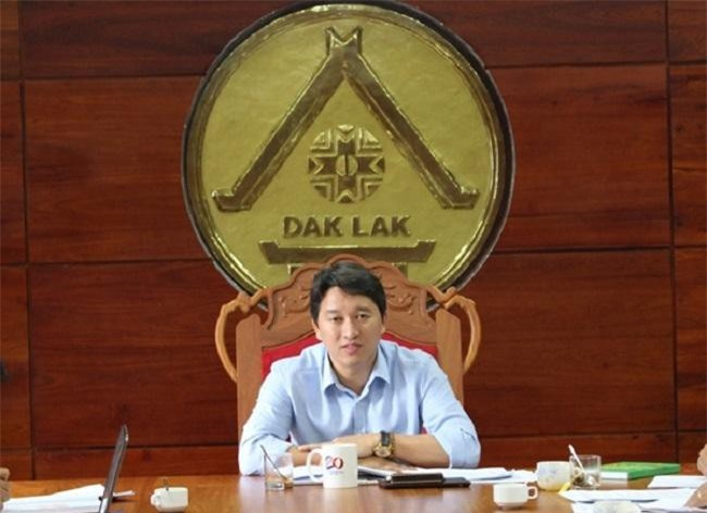 Ông Nguyễn Hải Ninh khi còn công tác tại Đắk Lắk (Ảnh: TL)