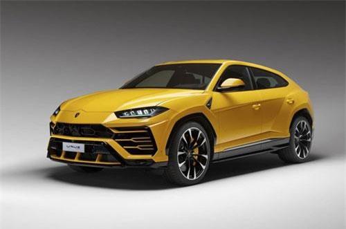 4. Lamborghini Urus (giá khởi điểm: 200.000 USD).