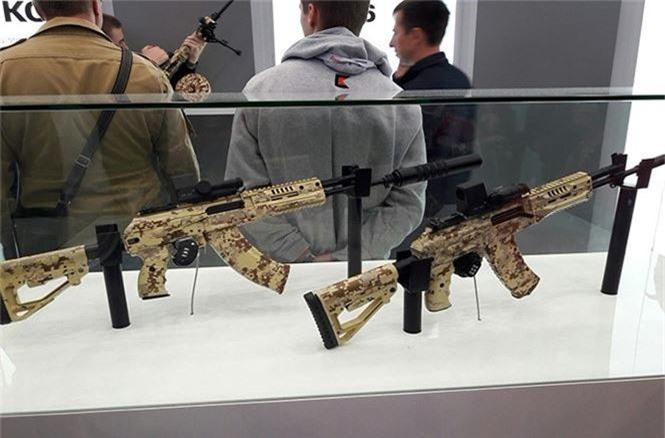 Bất ngờ dàn vũ khí mới của nhà sản xuất súng AK - ảnh 3