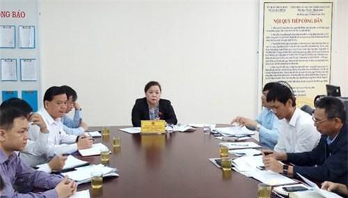 Phó Bí thư, Chủ tịch HĐND TP Hà Nội, bà Nguyễn Thị Bích Ngọc tiếp công dân định kỳ