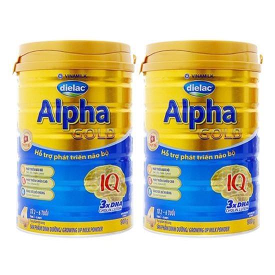 Combo 2 hộp sữa bột Vinamilk Dielac Alpha số 3