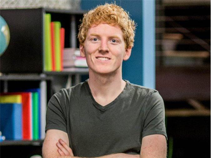 10. Patrick Collison - 30 tuổi, Tổng tài sản 2,1 tỷ USD. Ảnh: Stripe.