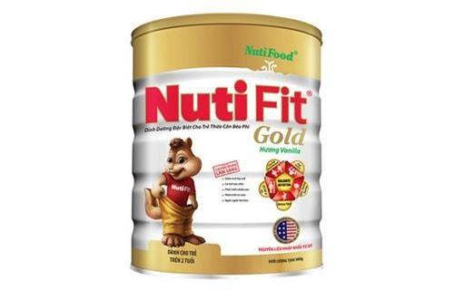 Sữa bột Nutifood Nuti Fit Gold