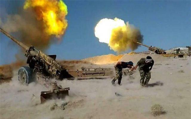 Quân đội Syria dội bão lửa vào