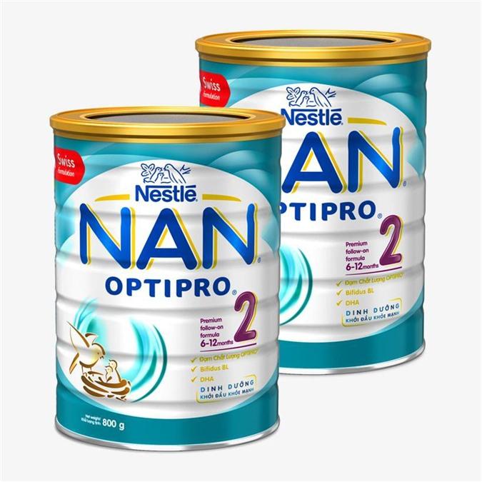 Sữa bột Nestle Nan Optipro số 2