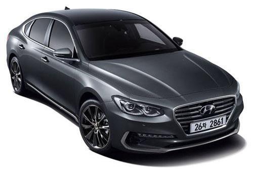 Hyundai Grandeur (doanh số: 17.797 chiếc).