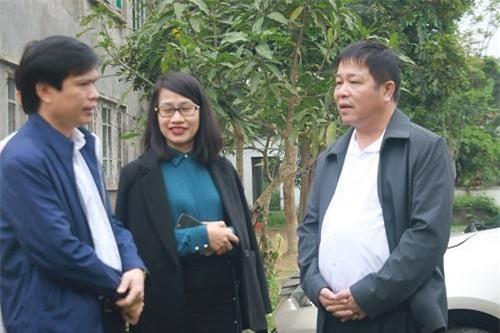 Lãnh đạo Tập đoàn TNG Holdings Vietnam trao đổi cùng chính quyền địa phương