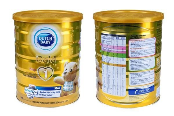 Sữa bột Dutch Baby Gold
