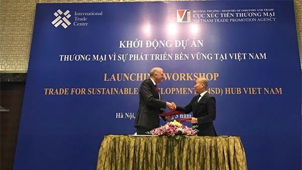 Mục tiêu của Dự án Thương mại vì sự phát triển bền vững tại Việt Nam là hỗ trợ các doanh nghiệp Việt Nam tham gia hiệu quả vào chuỗi giá trị quốc tế. (Ảnh: TCCT)
