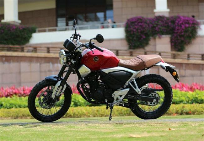 2019 Honda CB190SS.