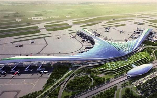 Phối cảnh thiết kế sân bay quốc tế Long Thành, Đồng Nai (Ảnh: TL)