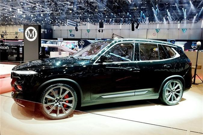 Mau VinFast SUV Lux trien lam tai Thuy Si co gi dac biet? hinh anh 1