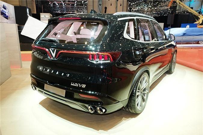 Mau VinFast SUV Lux trien lam tai Thuy Si co gi dac biet? hinh anh 4