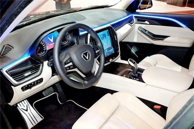 Mau VinFast SUV Lux trien lam tai Thuy Si co gi dac biet? hinh anh 6