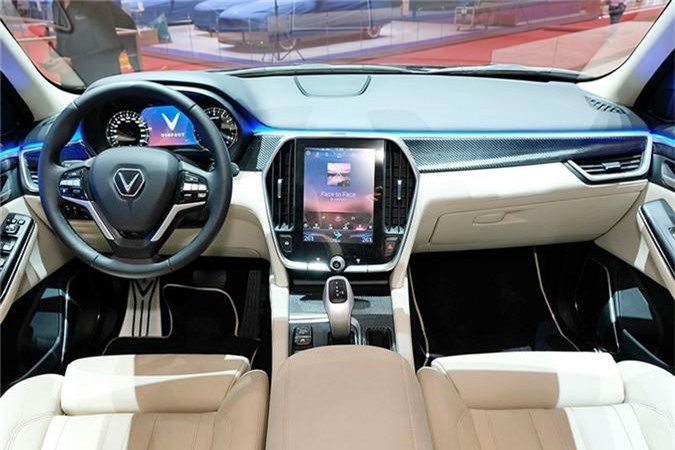 Mau VinFast SUV Lux trien lam tai Thuy Si co gi dac biet? hinh anh 7