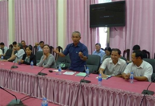 Ông Nguyễn Văn Giáo, đại diện cơ sở sản xuất nước mắm Phú Hưng.