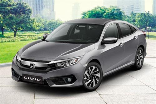 5. Honda Civic (doanh số: 2 chiếc).