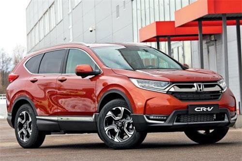 Honda CR-V (doanh số: 961 chiếc).