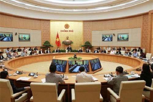 Cuộc họp trực tuyến để chuẩn bị và triển khai các công việc liên quan cuộc điều tra dân số và nhà ở. Ảnh: Báo điện tử Đảng Cộng sản Việt Nam.