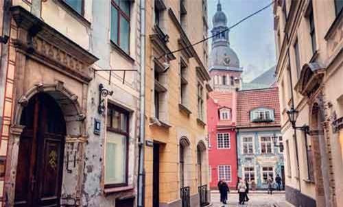Thành phố Vilnius, Lithuania. Nguồn: CNN