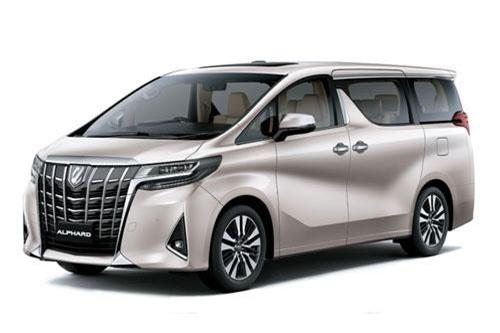 Toyota Alphard Luxury.
