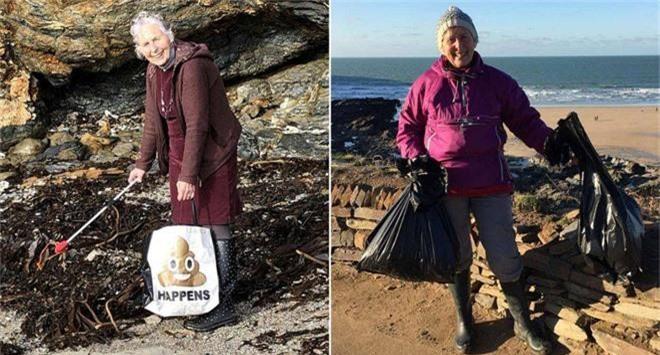 Cụ bà 70 tuổi dọn sạch 52 bãi biển trong 1 năm: Không bao giờ là quá muộn để cứu lấy hành tinh này - Ảnh 2.