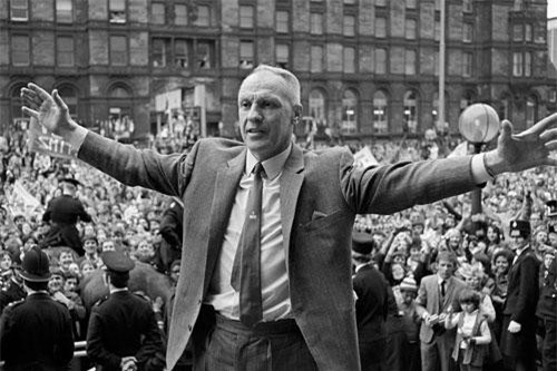 10. Bill Shankly (Carlisle United, Grimsby Town, Workington, Huddersfield Town, Liverpool).