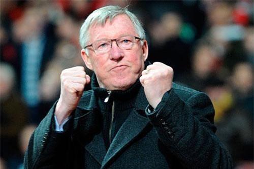 2. Sir Alex Ferguson (M.U).