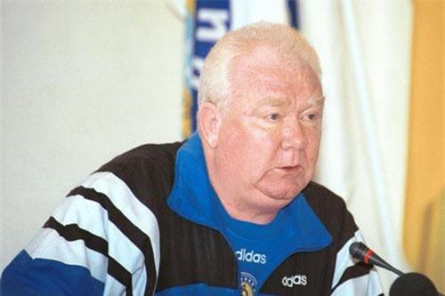 6. Valery Lobanovsky (Dnipro Dnipropetrovsk, Dynamo Kyiv, Soviet Union, ĐT UAE, ĐT Kuwait, ĐT Ukraine).